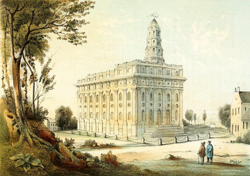 Das Illustrirte Mississippithal - The Mormon Temple (1857)