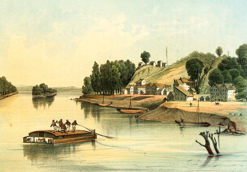Das Illustrirte Mississippithal - Warsaw, Iowa (1857)
