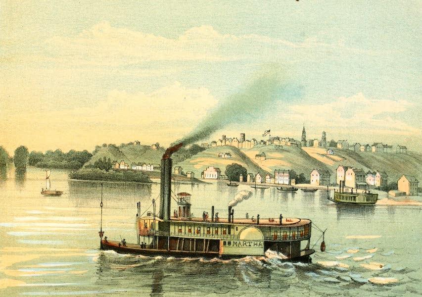 Das Illustrirte Mississippithal - Quincy, Illinois (1857)