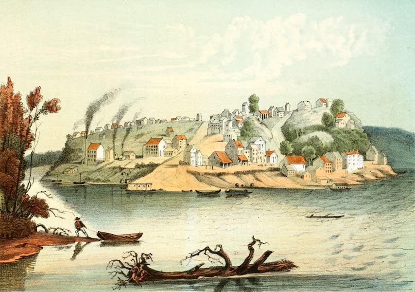 Das Illustrirte Mississippithal - Keokuck, Iowa (1857)