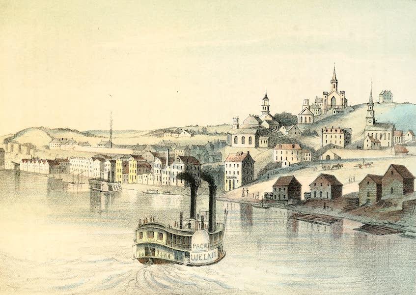 Das Illustrirte Mississippithal - Alton, Illinois (1857)