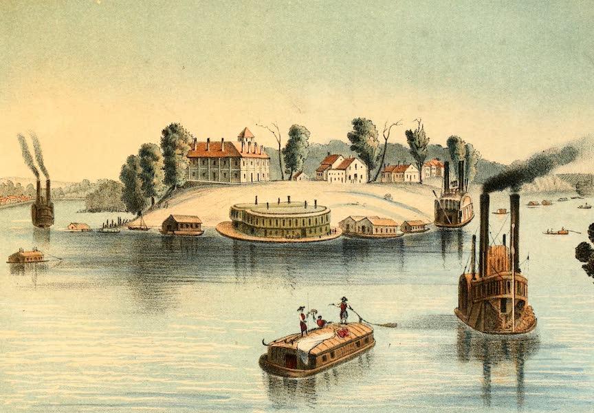 Das Illustrirte Mississippithal - Cairo, Mouth of the Ohio (1857)