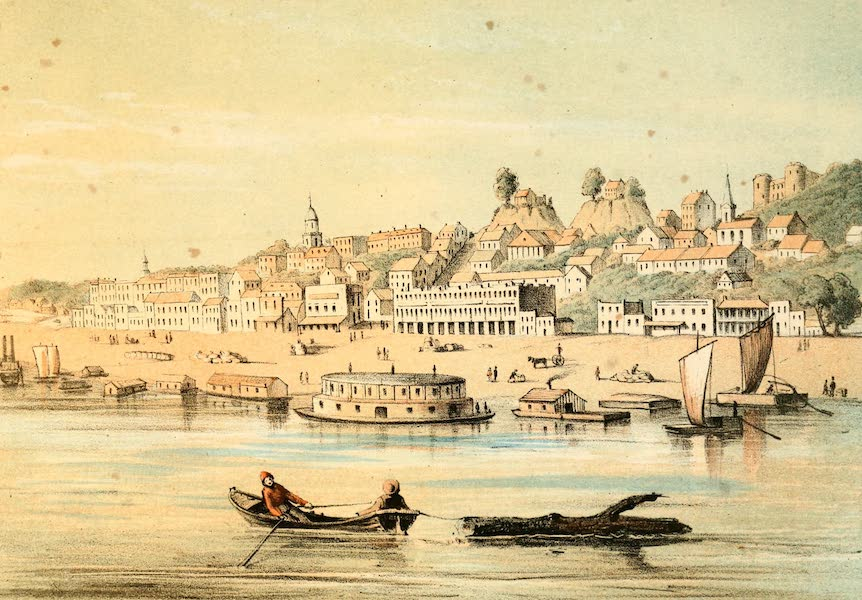 Das Illustrirte Mississippithal - Vicksburg (1857)