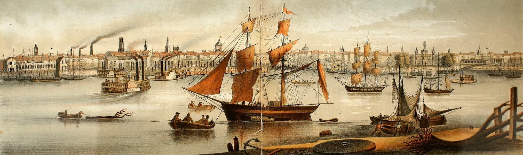 Das Illustrirte Mississippithal - New Orleans, Louisiana (1857)