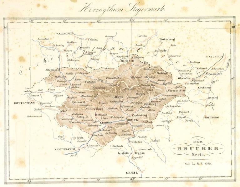 Das Pittoreske Oesterreich - Der Brucker Kreis (1840)