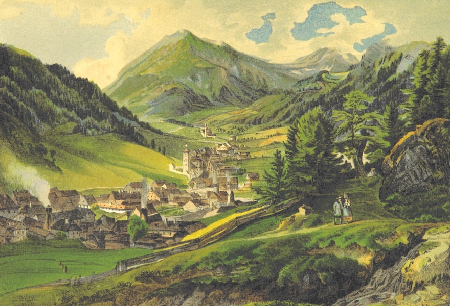 Das Pittoreske Oesterreich - Vordernberg Brucker Kreis in Steyermark (1840)