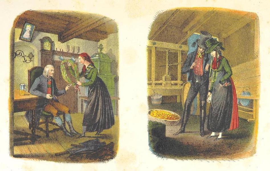 Das Pittoreske Oesterreich - Trachten (Oesterreich Under der Eins Viertel O.W.W.) (1840)