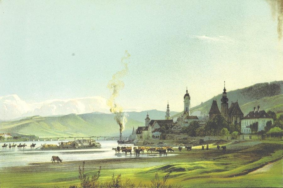 Das Pittoreske Oesterreich - Stein an der Danau (1840)