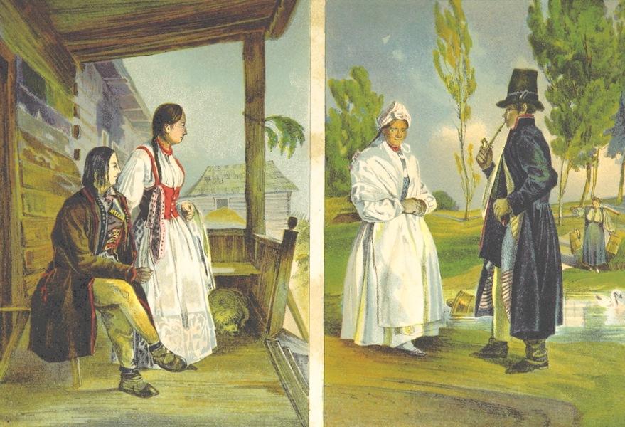 Das Pittoreske Oesterreich - Wadowicer Kreis Goralen and Lachen (1840)