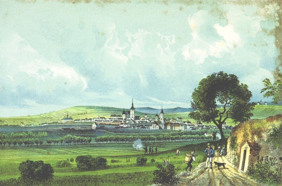 Das Pittoreske Oesterreich - Retz (V.U.M.B. in Nied-Osterr) (1840)