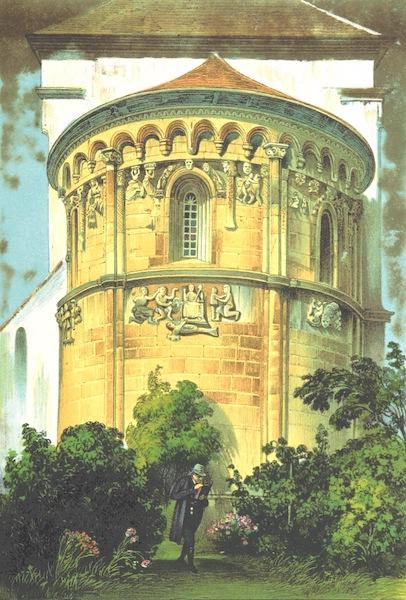Das Pittoreske Oesterreich - Die Rotunde der Kirche zu Schongraberrn (1840)