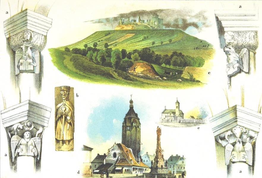Das Pittoreske Oesterreich - V.U.M.B. [Figures A-D] (1840)