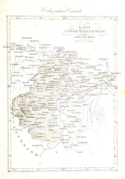 Das Pittoreske Oesterreich - Das Viertel Unter Wienerwald in Lande Unter der Enns (1840)