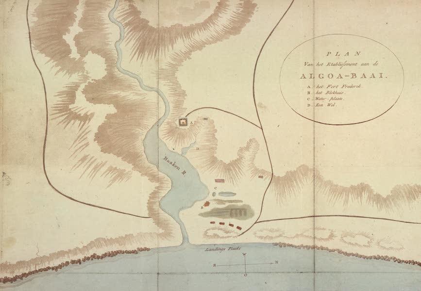 De Kaffers aan de Zuidkust van Afrika - Plan van het Etablishement aan de Algoa-Baai (1810)
