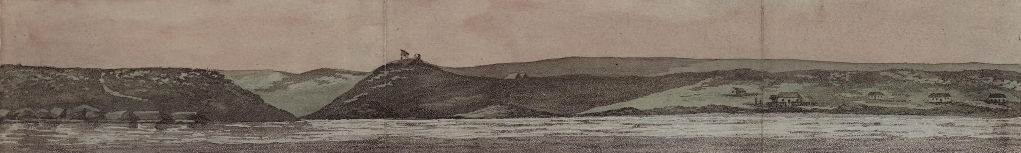 De Kaffers aan de Zuidkust van Afrika - Gezigt van de Afrikaansche Kust bij de Algoa-Baai (1810)