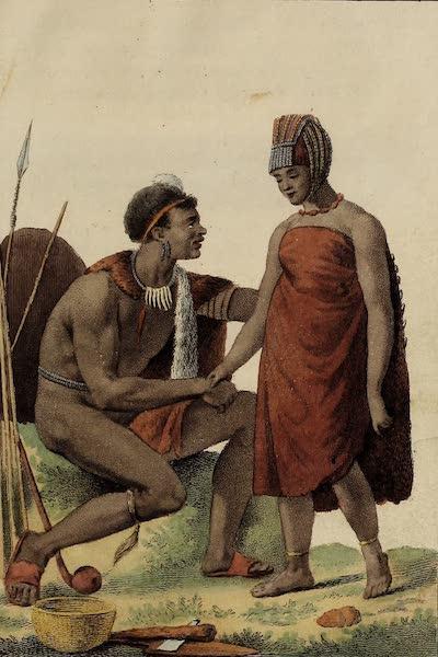 De Kaffers aan de Zuidkust van Afrika - Enne Kafferin den Kaffer ten Huwelijkvoorgefteld (1810)