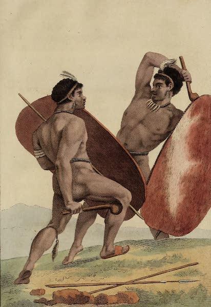 De Kaffers aan de Zuidkust van Afrika - Strijd en Tweegevecht der Kaffers (1810)