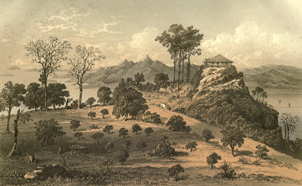 De Zieke Reiziger, or, Rambles in Java and the Straits - A sketch of the Penang Hill [I] (1853)
