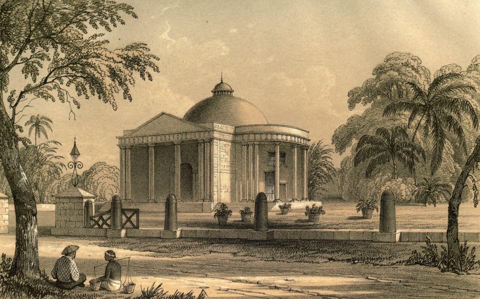 De Zieke Reiziger, or, Rambles in Java and the Straits - Dutch Church at Batavia (1853)