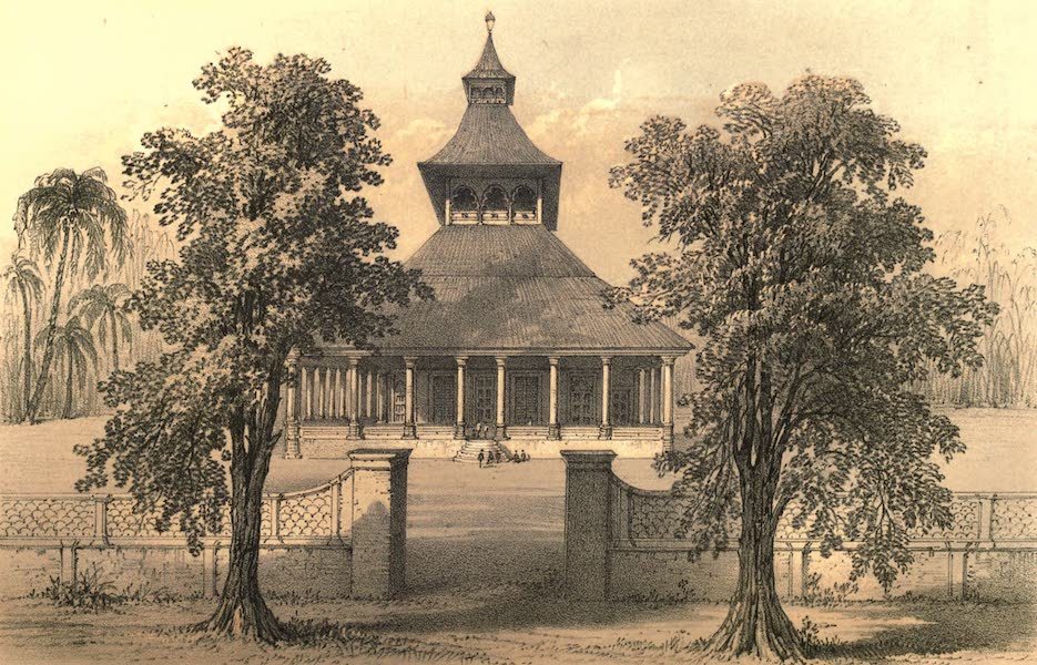 De Zieke Reiziger, or, Rambles in Java and the Straits - Javanese Mosque, at Bandong (1853)