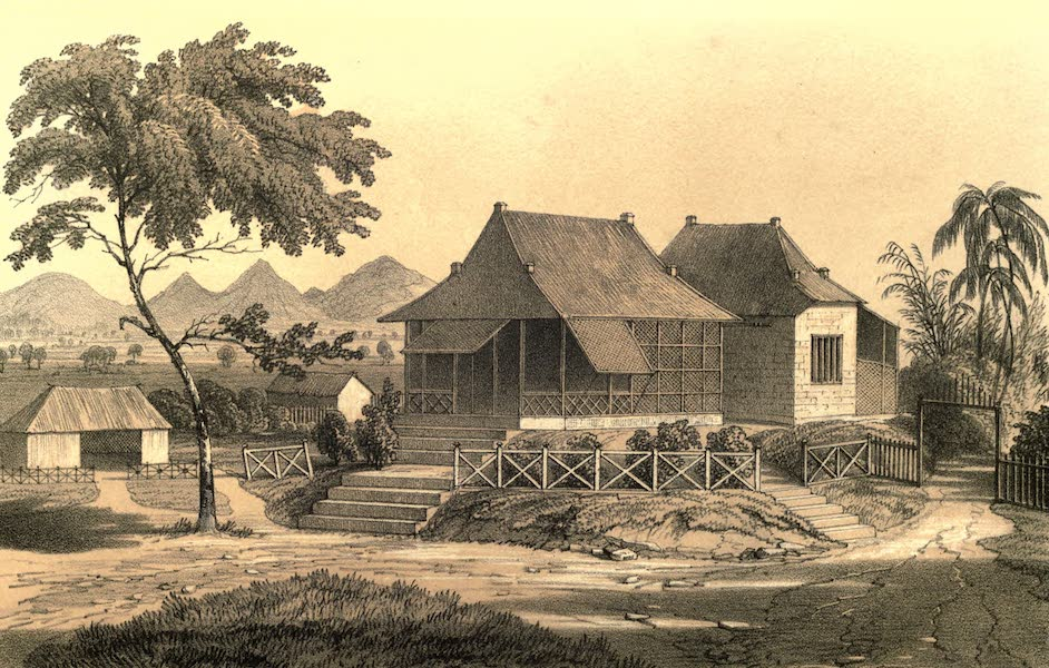 De Zieke Reiziger, or, Rambles in Java and the Straits - Passengrang at Bomiagoe (1853)