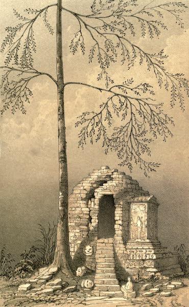 De Zieke Reiziger, or, Rambles in Java and the Straits - Tjandie, Dapor, near Boro Bodor (1853)