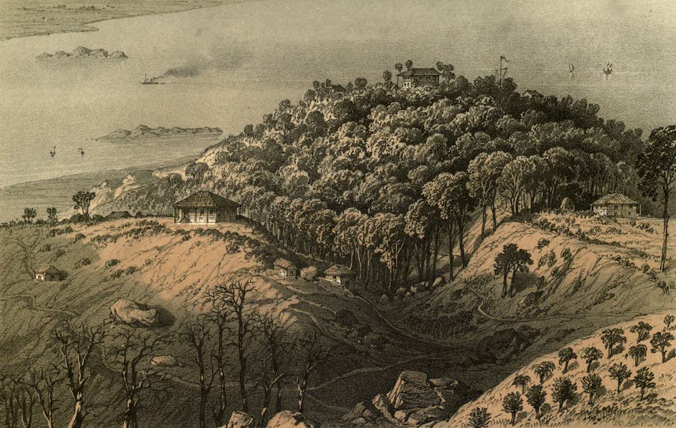 De Zieke Reiziger, or, Rambles in Java and the Straits - A sketch of the Penang Hill [II] (1853)