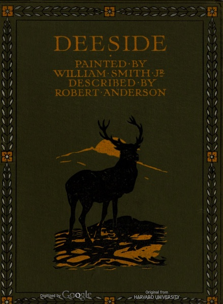Deeside Painted and Described - Front Cover (1911)