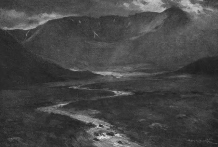 Deeside Painted and Described - Braeriach and the Source of the Dee (1911)