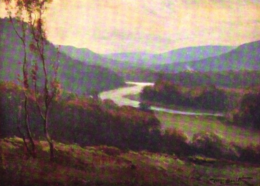 Deeside Painted and Described - The Valley of the Dee near Mar Lodge (1911)
