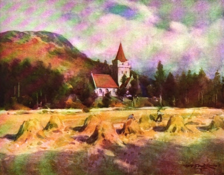 Deeside Painted and Described - Crathie Church (1911)