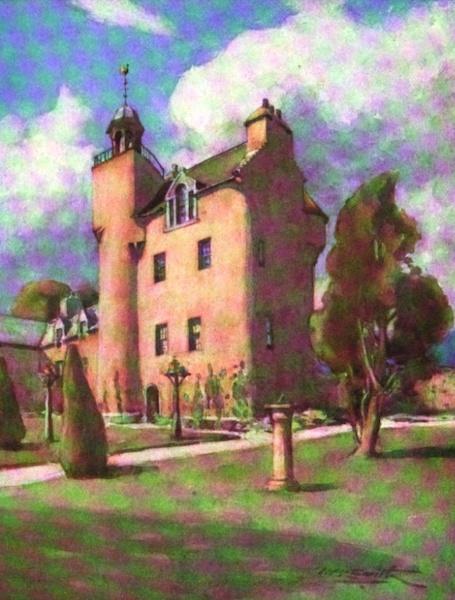 Deeside Painted and Described - Abergeldie Castle (1911)