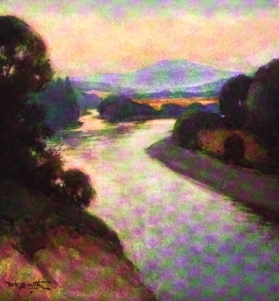Deeside Painted and Described - The Meeting of the Tanar and the Dee (1911)