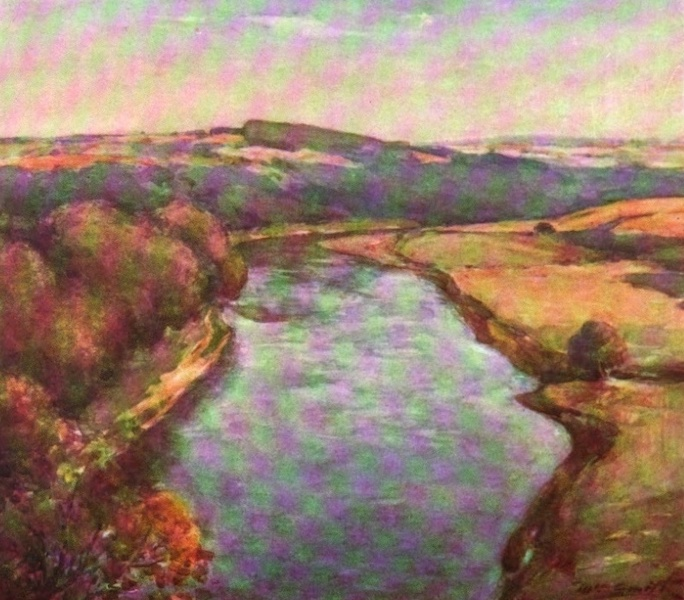 Deeside Painted and Described - The Dee at Culter (1911)