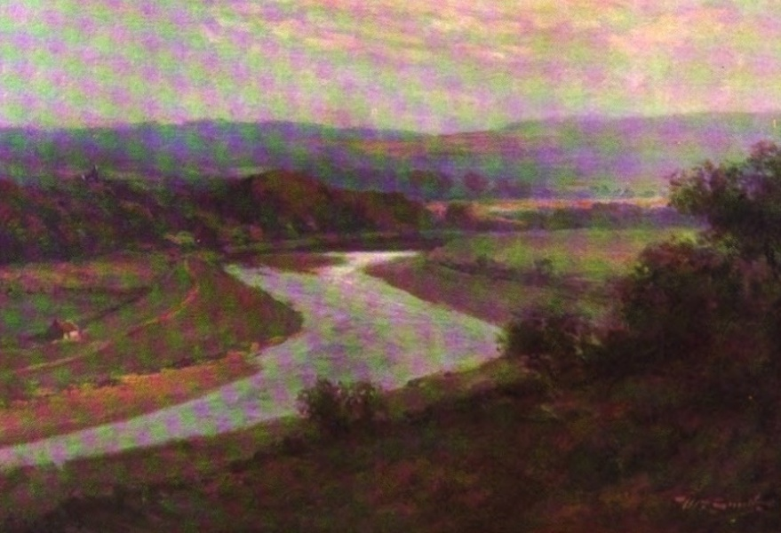 Deeside Painted and Described - The Dee at Ardoe (1911)