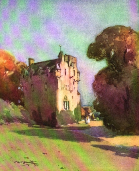 Deeside Painted and Described - Crathes Castle (1911)