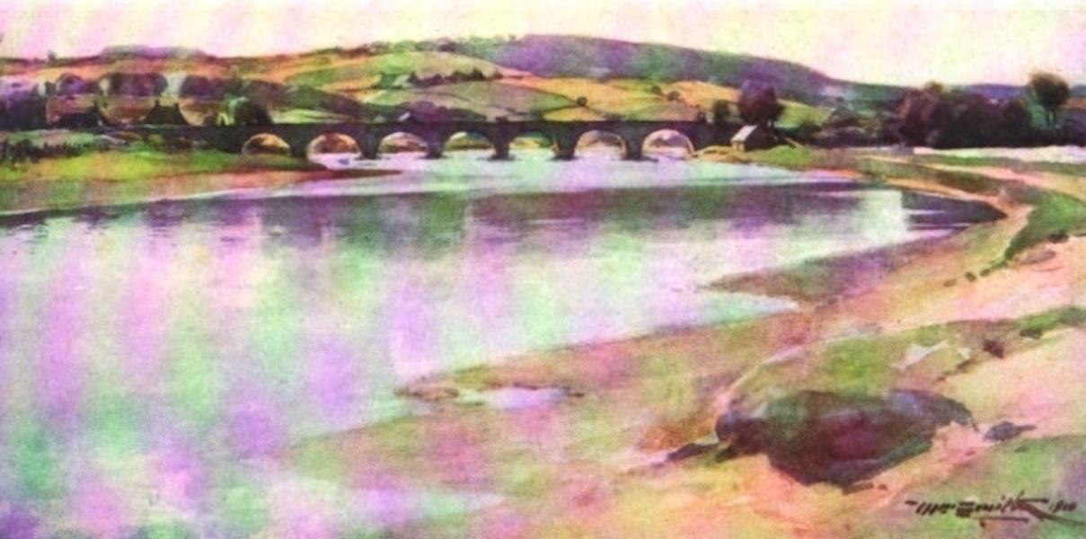 Deeside Painted and Described - The Bridge of Dee (1911)