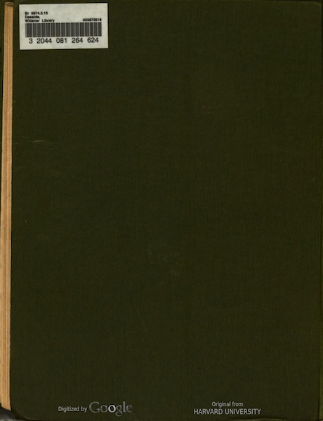 Deeside Painted and Described - Back Cover (1911)