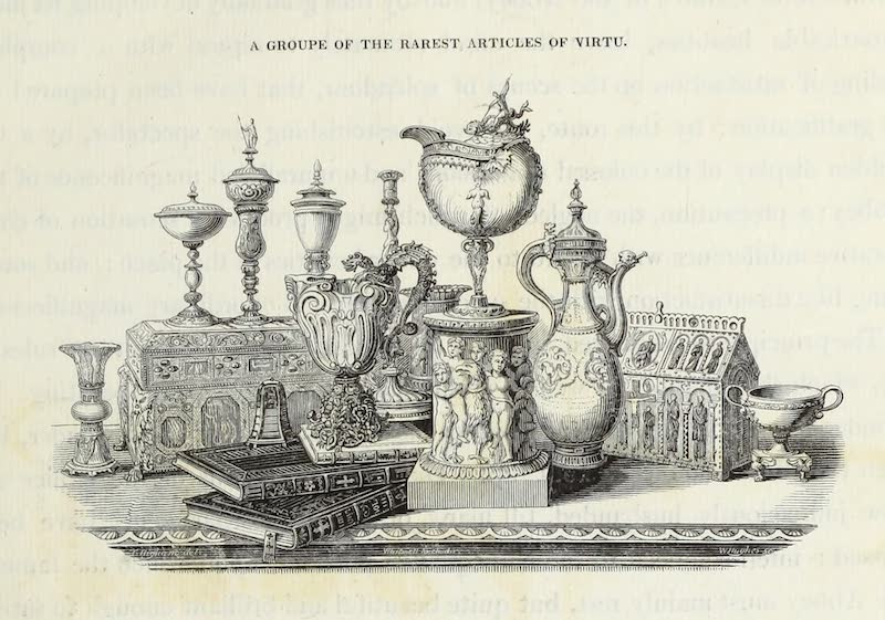 Delineations of Fonthill and its Abbey - A Groupe of the Rarest Articles of Virtu (1823)
