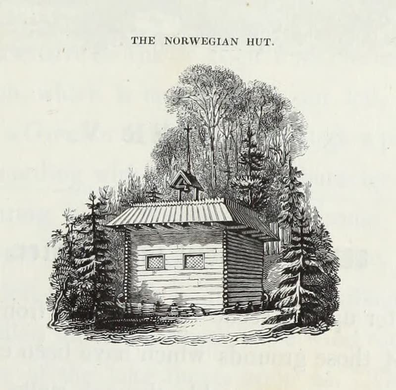 Delineations of Fonthill and its Abbey - The Norwegian Hut (1823)