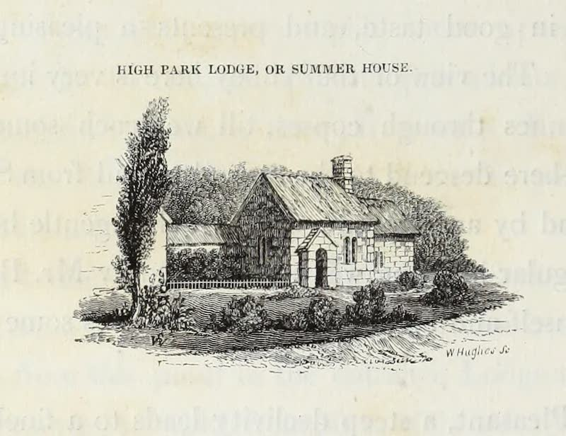 Delineations of Fonthill and its Abbey - High Park Lodge or Summer House (1823)
