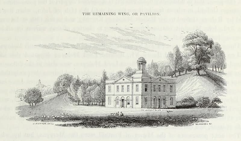 Delineations of Fonthill and its Abbey - The Remaining Wing or Pavillion (1823)
