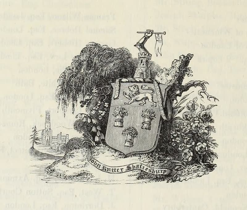 Delineations of Fonthill and its Abbey - Ornament (1823)