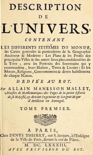 Encyclopedias - Description de l'Univers Vol. 1