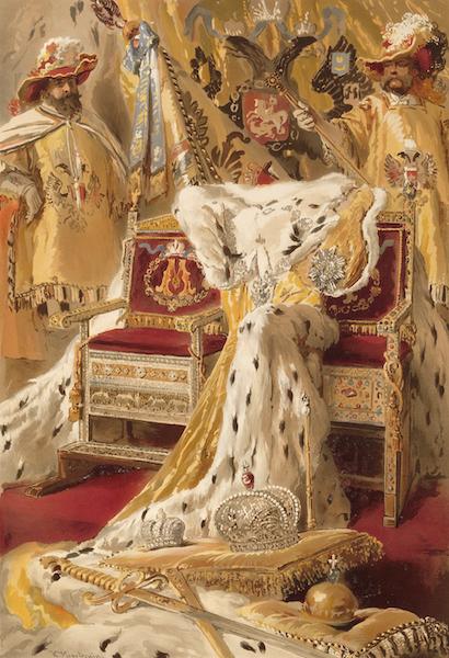 Description du Sacre et du Couronnement de Leurs Majestes Imperiales - Les Insignes Imperiaux (1883)