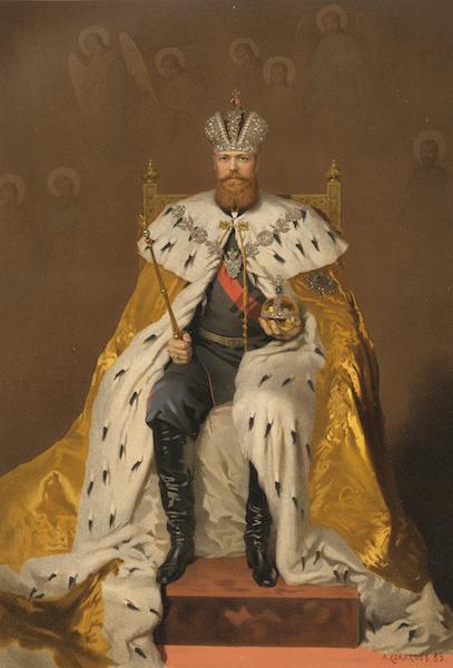 Description du Sacre et du Couronnement de Leurs Majestes Imperiales - Sa Majeste l'Empereur Alexandre III (1883)