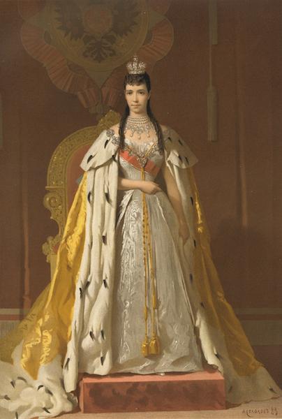Description du Sacre et du Couronnement de Leurs Majestes Imperiales - Sa Majeste l'Imperatrice Marie Feodorowna (1883)