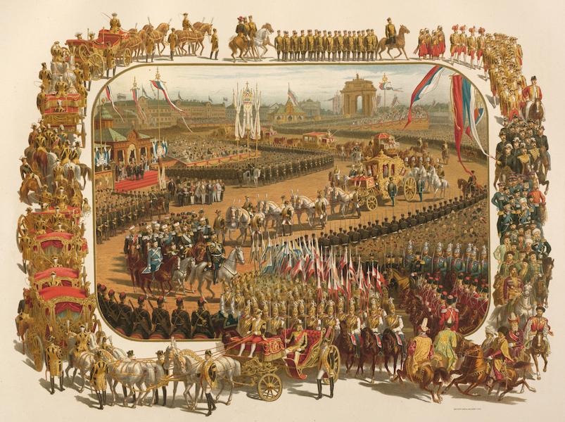 Description du Sacre et du Couronnement de Leurs Majestes Imperiales - Entree Solennelle a Moscou (1883)