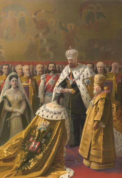 Description du Sacre et du Couronnement de Leurs Majestes Imperiales - Couronnement de Sa Majeste l'Imperatrice (1883)