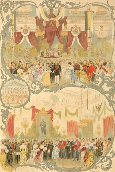 Description du Sacre et du Couronnement de Leurs Majestes Imperiales - Bals (1883)